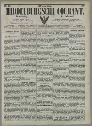 Middelburgsche Courant 1891-02-12
