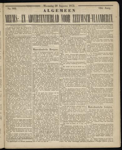 Ter Neuzensche Courant. Algemeen Nieuws- en Advertentieblad voor Zeeuwsch-Vlaanderen / Neuzensche Courant ... (idem) / (Algemeen) nieuws en advertentieblad voor Zeeuwsch-Vlaanderen 1873-08-20