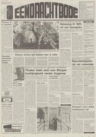 Eendrachtbode (1945-heden)/Mededeelingenblad voor het eiland Tholen (1944/45) 1989-04-05