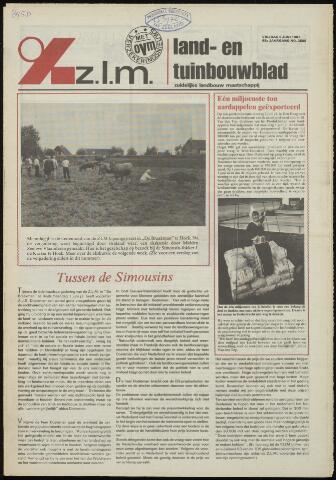 Zeeuwsch landbouwblad ... ZLM land- en tuinbouwblad 1981-06-05