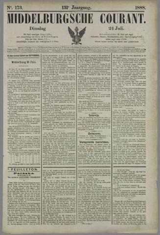 Middelburgsche Courant 1888-07-24