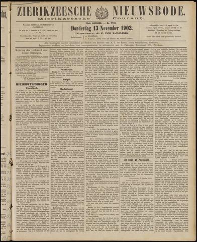 Zierikzeesche Nieuwsbode 1902-11-13