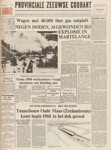 Provinciale Zeeuwse Courant 1967-08-22
