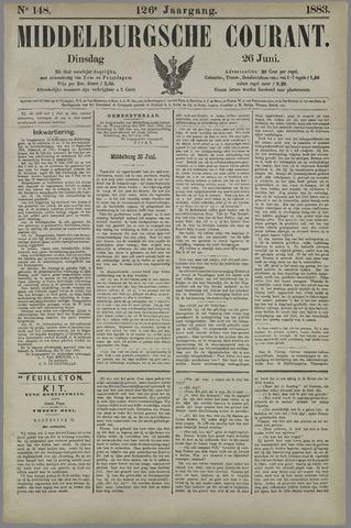 Middelburgsche Courant 1883-06-26