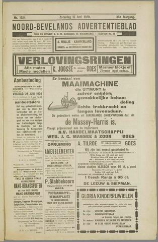 Noord-Bevelands Nieuws- en advertentieblad 1929-06-15
