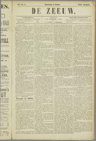 De Zeeuw. Christelijk-historisch nieuwsblad voor Zeeland 1891-10-08
