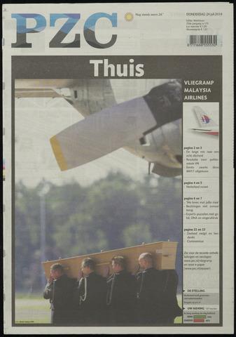 Provinciale Zeeuwse Courant 2014-07-24