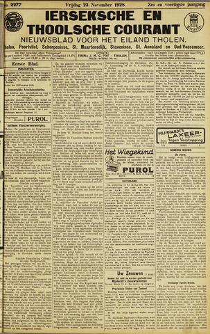 Ierseksche en Thoolsche Courant 1928-11-23