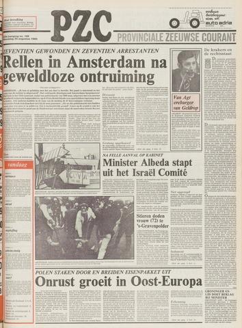 Provinciale Zeeuwse Courant 1980-08-20