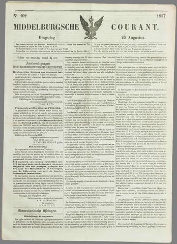 Middelburgsche Courant 1857-08-25
