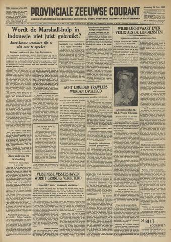 Provinciale Zeeuwse Courant 1949-11-28