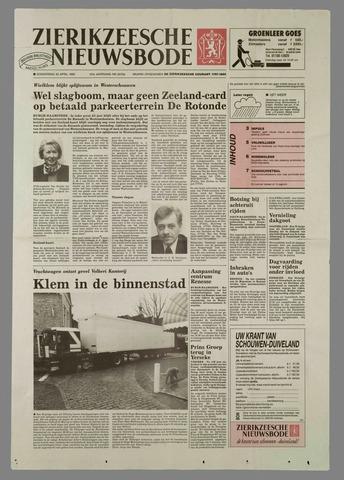Zierikzeesche Nieuwsbode 1995-04-20
