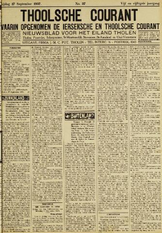 Ierseksche en Thoolsche Courant 1937-09-17