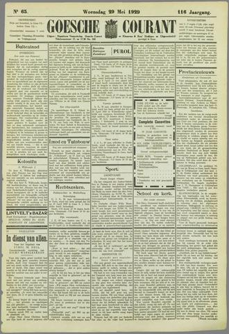 Goessche Courant 1929-05-29
