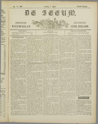 De Zeeuw. Christelijk-historisch nieuwsblad voor Zeeland 1898