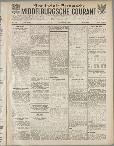 Middelburgsche Courant 1932-08-02
