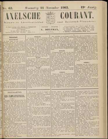 Axelsche Courant 1903-11-11
