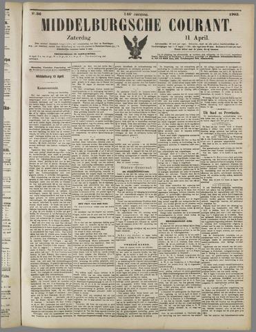Middelburgsche Courant 1903-04-11