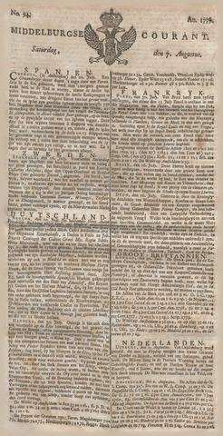 Middelburgsche Courant 1779-08-07