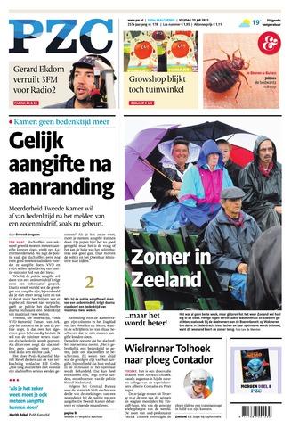 Provinciale Zeeuwse Courant 2015-07-31
