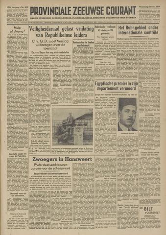 Provinciale Zeeuwse Courant 1948-12-29
