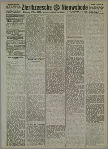 Zierikzeesche Nieuwsbode 1930-11-17