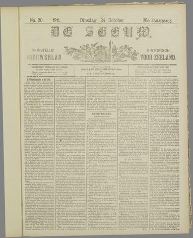De Zeeuw. Christelijk-historisch nieuwsblad voor Zeeland 1911-10-24