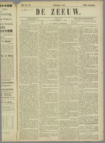 De Zeeuw. Christelijk-historisch nieuwsblad voor Zeeland 1891-07-11