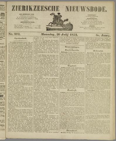 Zierikzeesche Nieuwsbode 1852-07-26