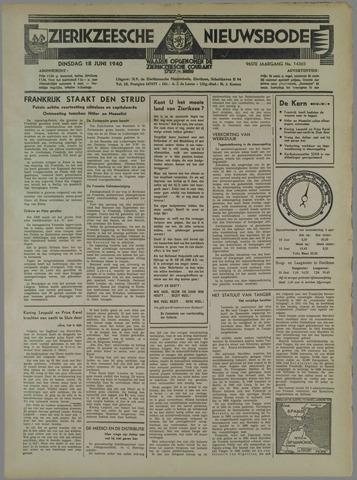 Zierikzeesche Nieuwsbode 1940-06-18