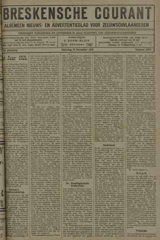 Breskensche Courant 1921-12-31