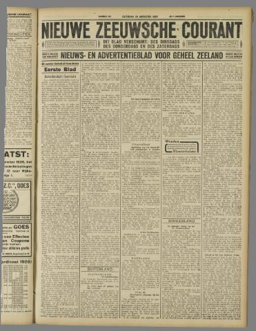 Nieuwe Zeeuwsche Courant 1926-08-28