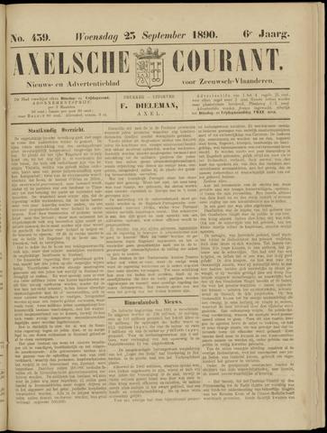 Axelsche Courant 1890-09-24