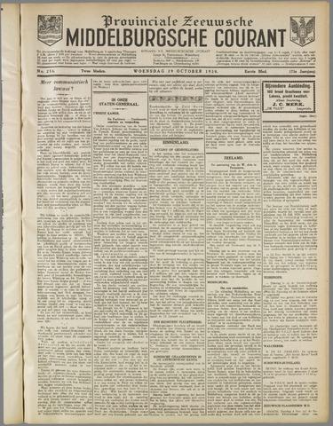Middelburgsche Courant 1930-10-29