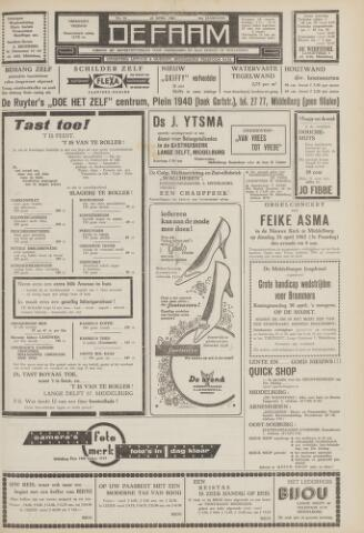 de Faam en de Faam/de Vlissinger 1962-04-20