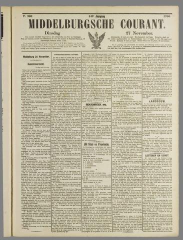 Middelburgsche Courant 1906-11-27