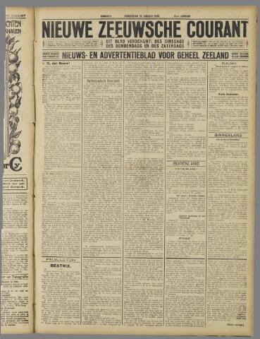 Nieuwe Zeeuwsche Courant 1926-01-21