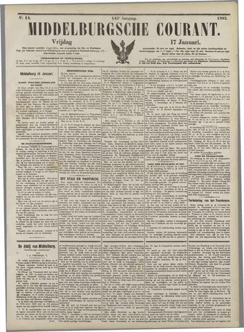 Middelburgsche Courant 1902-01-17