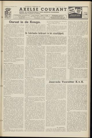 Axelsche Courant 1959-02-07
