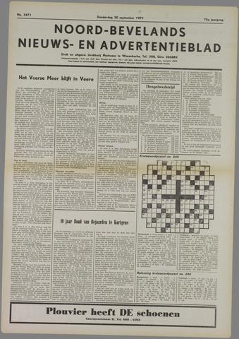 Noord-Bevelands Nieuws- en advertentieblad 1971-09-30