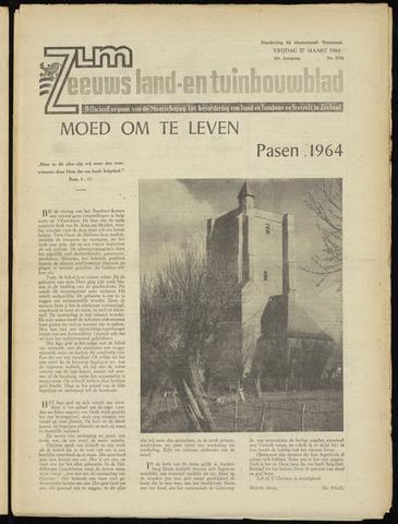 Zeeuwsch landbouwblad ... ZLM land- en tuinbouwblad 1964-03-27