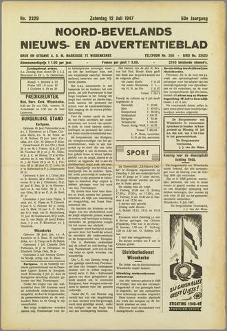 Noord-Bevelands Nieuws- en advertentieblad 1947-07-12