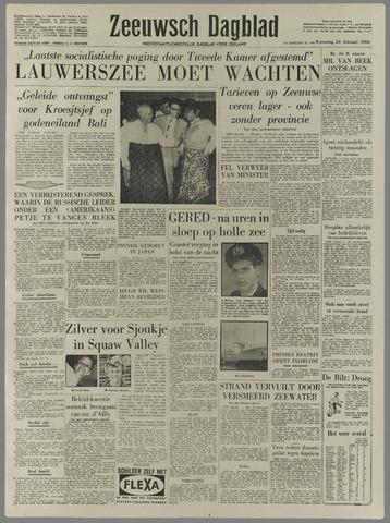 Zeeuwsch Dagblad 1960-02-24