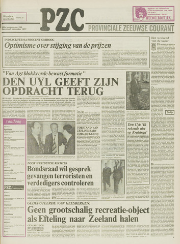 Provinciale Zeeuwse Courant 1977-11-05
