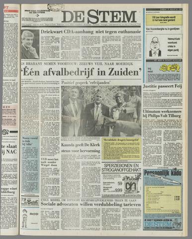 de Stem 1989-08-29