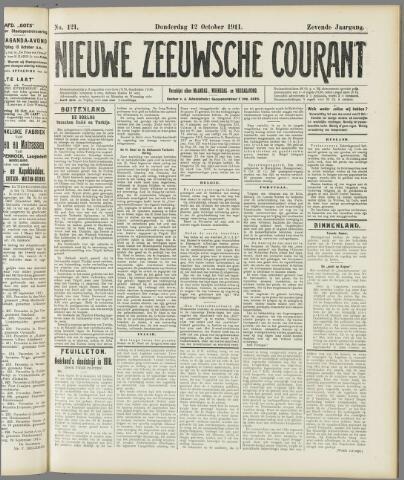 Nieuwe Zeeuwsche Courant 1911-10-12