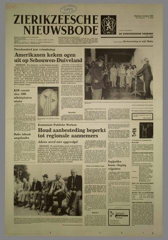 Zierikzeesche Nieuwsbode 1982-10-05