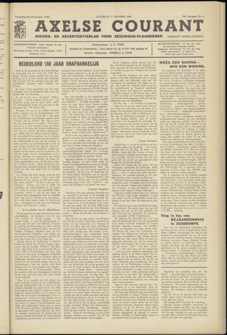 Axelsche Courant 1963-10-05