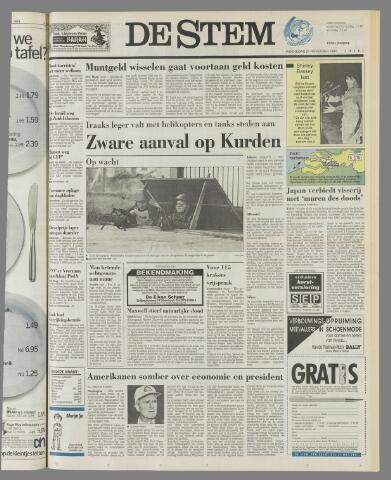 de Stem 1991-11-27