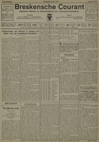 Breskensche Courant 1932-07-27